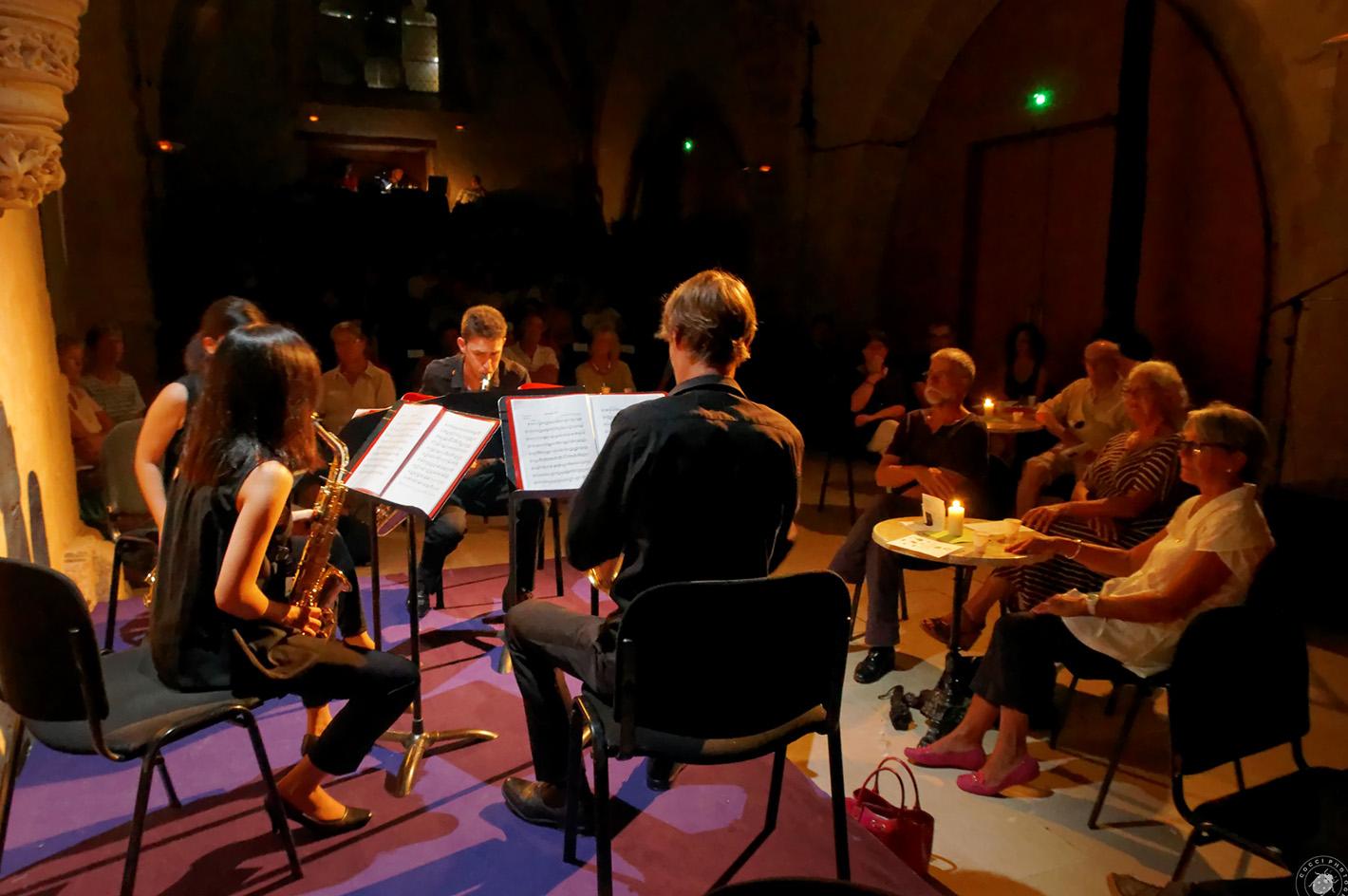 Café concert, musique de chambre par les étudiants de l'académie Habanera